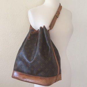 Authentic Louis Vuitton Noe GM Bucket Bag